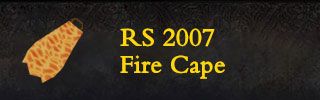 RS2007 FireCape